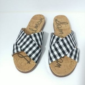 Sam Edelman Shoes - NIB Sam Edelman Hattie Crisscross Slide Sandal 8